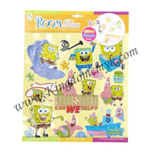 Cartoon SpongeBob Foam Stickers