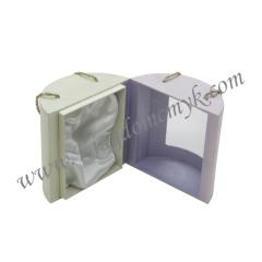 String Handle Round Perfume Packaging