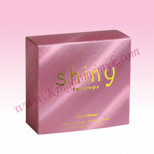 Pink Holographic Paper Box