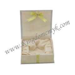 Book Shape Flocked Gift Box