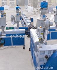 Multi layer pipe extrusion line