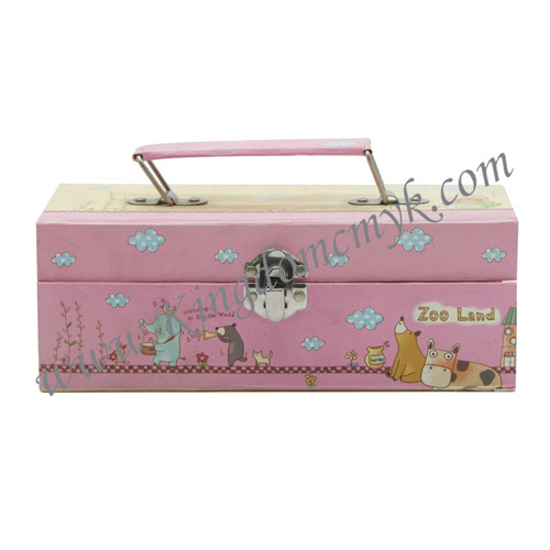China Handle Pink Cartoon Make up Case manufacturers - Wenzhou Kingdom