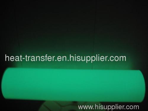Luminous heat transfer film
