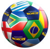 PU / PVC leather Machine stitch Promotion soccer ball / rubber football