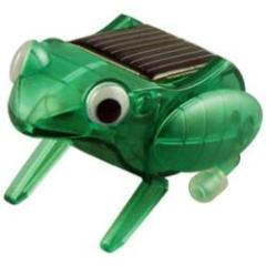 Solar Happy Hopping Frog