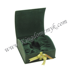 Book Shape Flocked Gift Boxes