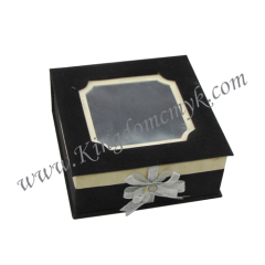 Black Flocked Gift Packagings