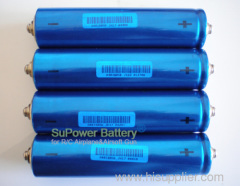 SuPower 38140 12Ah Li-FePO4 Battery Cell Rechargeable Li-ion Battery Cell