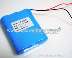 3.7V 6.6Ah 18650 Li-ion Rechargeable Pack with PCB Super High Capacity External Battery Pack