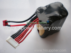 R/C Cars/RC 450 Helicopter KV1800 Airplane 22.2V 6S 1500mAh Li-ion Battery pack