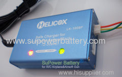 Li-ion Battery Balance Charger 2 Cell--3Cell with Power Supply for R/C Toy Airsoft Gun Power Battery Packs