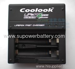 14500 / AA Size battery 3.2V Double Slot LiFePo4 Li-ion Battery Cell Charger