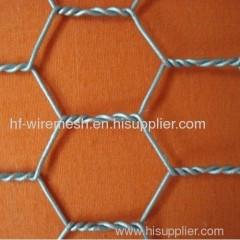 Cold galvanized hexagonal netting