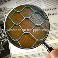 Cold galvanized hexagonal net