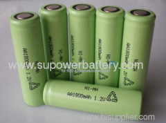 AA /14500 Rechargeable NIMH Power Battery Cell 1.2V 1800mAh