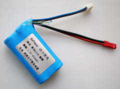 7.4V 650mAh Li-ion Battery pack for R/C Helicopter SYMA 9100 Airplane