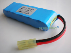 R/C Car NIMH Rechargeable Power battery Pack 7.2V 1600mAh