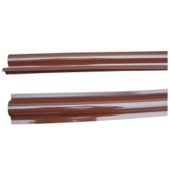 PVC Brown Cable Riser Guard Protector Groove