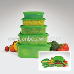 10 PC's altijd freshe container