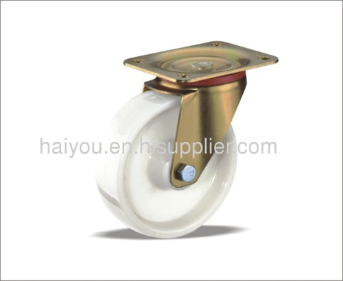 swivel caster with nylon wheel