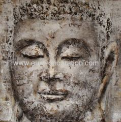 Buddha Oil Painting