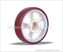 polyurethane wheels on nylon centre