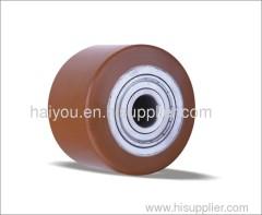 polyurethane roller with Steel center