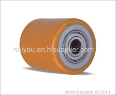 PU rollers with nylon centre
