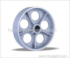 3-12inch Cast Iron Wheels