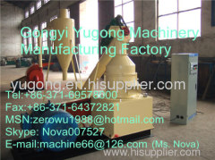 sawdust briquette making machine made by yugong