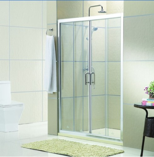 Open door shower screen from china manufacturer for Screen for door that opens out