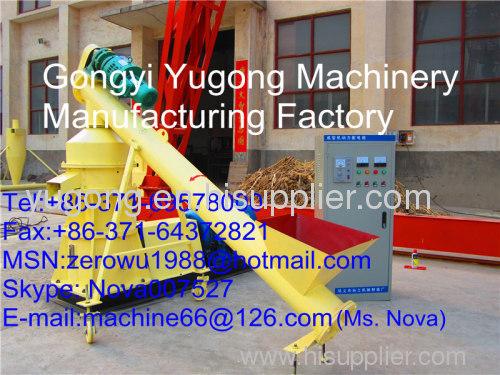 Biomass fuel molding machine