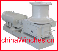 horizontal vertical electric hydraulic marine anchor capstan