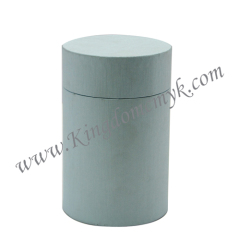 Blue Round Paper Gift Boxes
