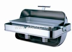 Built-in rectangle chafing dish