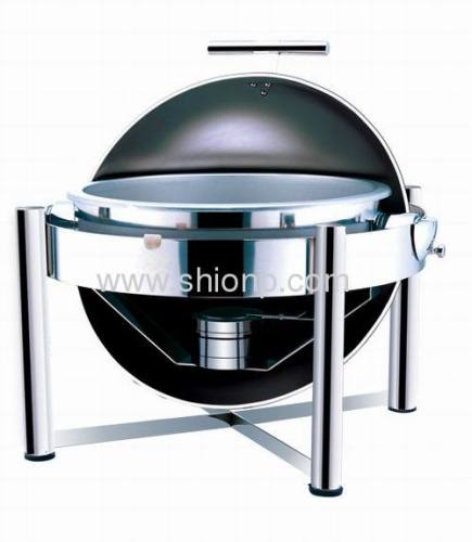 St.st legs round chafing dish