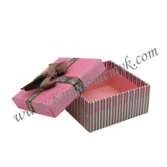 Paper Gift Packaging with Ribbon