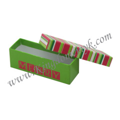 Stripe Paper Gift Box