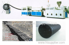 PE pipe production line manufacture