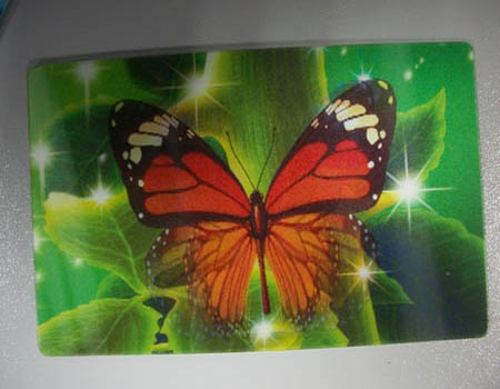 High-end Plastic 3D Greeting Card
