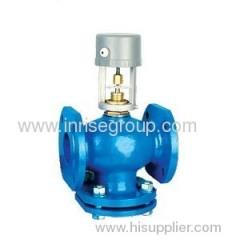 Flange-type control valve