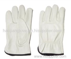 cow leather driving glove