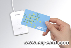 Plastic smart Card for access control