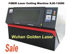 Fiber laser machines cutting steel