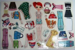 Magnetic Dress Up Dolls, Dress Up Magnet
