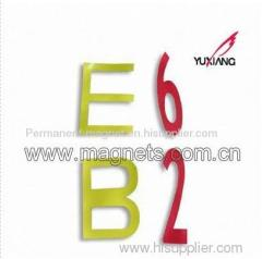 Fridge Magnet Letter and Magnet Number