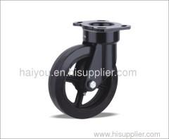 rubber casters (Iron core)