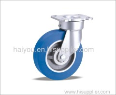 Swivel caster and wheel