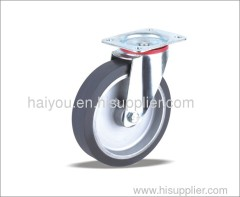 rubber wheel Swivel caster