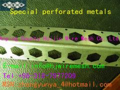 Perforated metal tubes